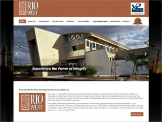 Rio West Development & Construction, Inc. | Affordable Web Portfolio