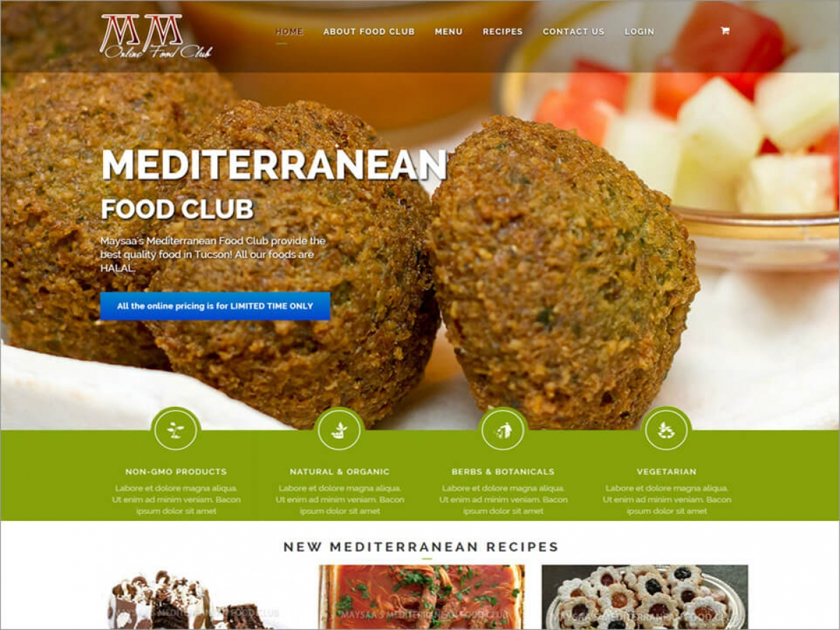 MM Food Club | Affordable Web Portfolio