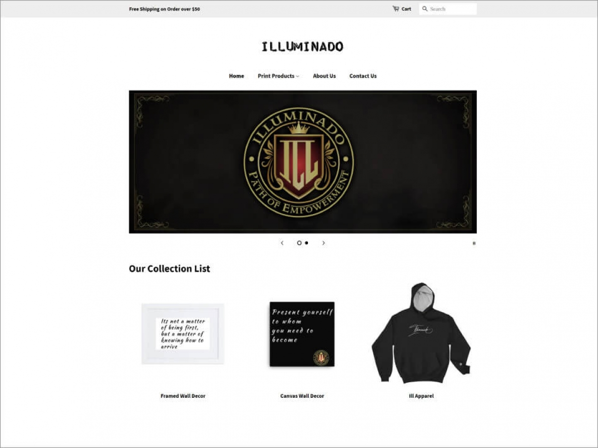 Illuminado | Affordable Web Portfolio