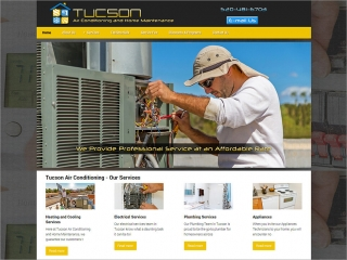 Tucson Air Conditioning and Home Maintenance | Affordable Web Portfolio