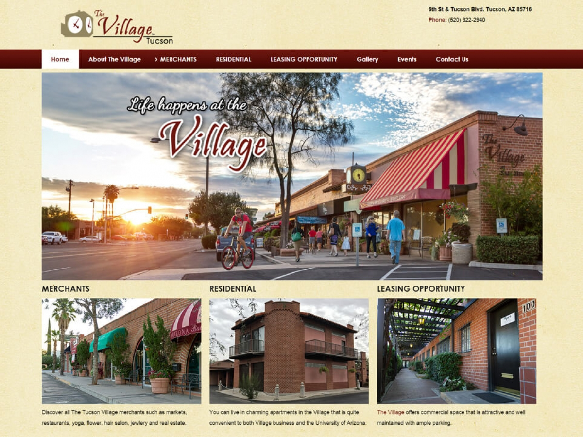 The Tucson Village at Sam Hughes | Affordable Web Portfolio