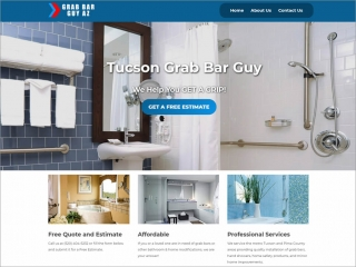 Grab Bar Guy AZ | Affordable Web Portfolio