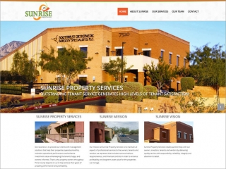 Sunrise Property Services | Affordable Web Portfolio