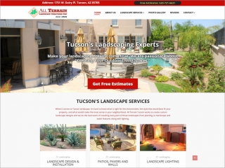 All Terrain Tucson Creation Inc. | Affordable Web Portfolio